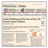 FRANK SCHILLING NEW gTLDs INTERVIEW FINANCIAL TIMES