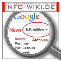 LINK: GGOGLE™ NEWS SEARCH ENGLISCH ENGLISH UK UNITED KINGDOM GROSSBRITANNIEN ENGLAND VERSION EDITION + NEWS PRESS ARCHIVES