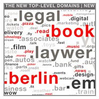 DIE NEUEN DOMAINENDUNGEN INTERNETADRESSEN WIE .BERLIN .BOOK - NEW TLDs TOP LEVEL DOMAINS gTLDs GENERIC TLDs